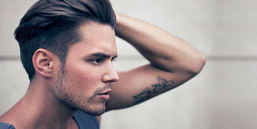 укладка мужских волос средней длины