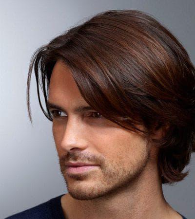 укладка мужских длинных волос