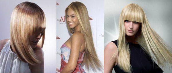милирование осветлённых волос