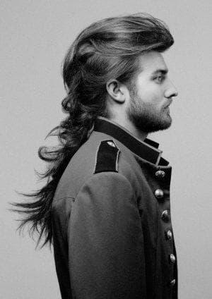 мужская стрижка гранж на длинные волосы