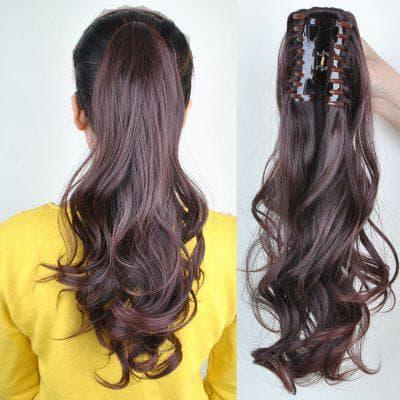 накладные волосы на резинке в виде хвоста