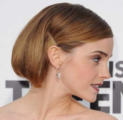 как красиво заколоть короткие волосы