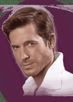 классическая мужская стрижка на средние волосы