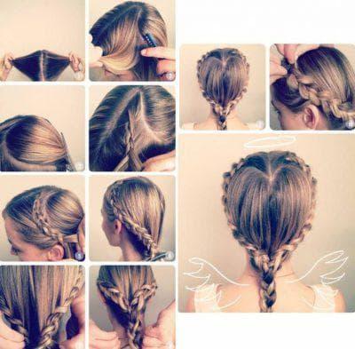 косы и плетения на длинные волосы для девочек