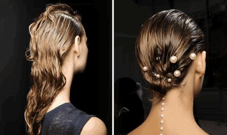 воск для волос мокрый эффект