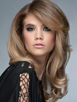 красивое мелирование средних волос