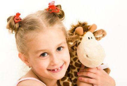 причёска озорная шишка для ребёнка