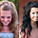 Как красиво заколоть распущенные волосы?
