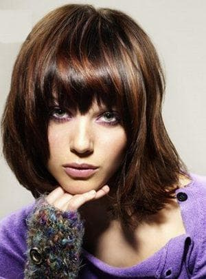 красивое колорирование средних волос