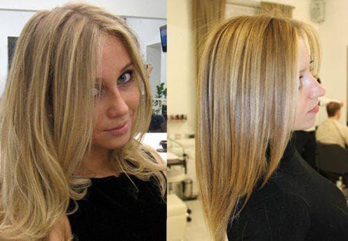 классическое мелирование на светлые волосы