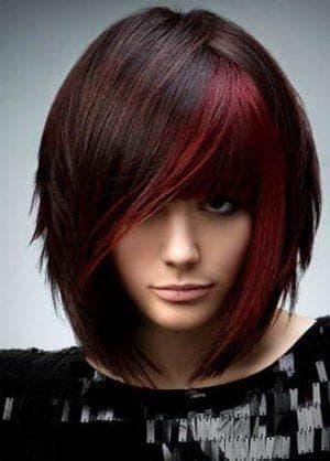 текстурированная стрижка на средние волосы