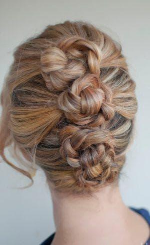 узлы на длинные волосы для подростков