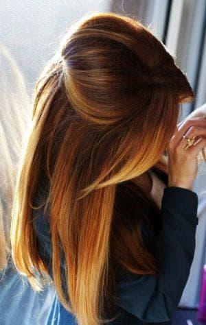 красивое окрашивание деграде длинных волос