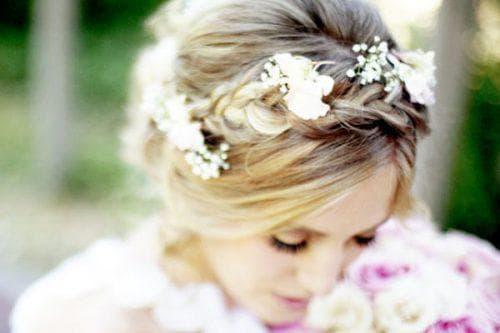 Свадебные прически на волосы до плеч