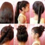 Школьные прически для девочек с длинными волосами