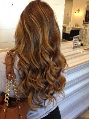 красивое окрашивание кудрявых волос