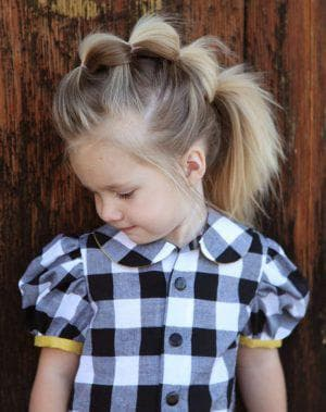 детские повседневные прически на длинные волосы