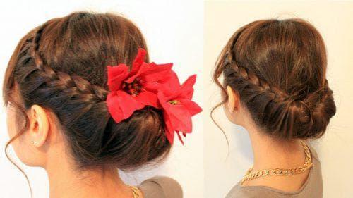греческая причёска на длинные волосы для девочек