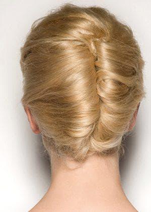 французская ракушка на длинные волосы для подростков