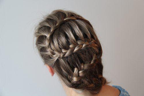 плетение змейка на длинные волосы