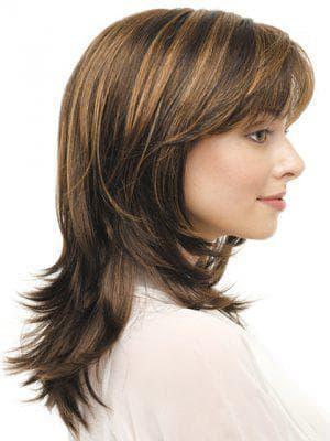 дебют на средние кудрявые волосы