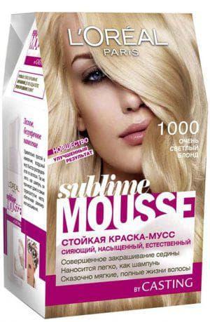мусс для волос Лореаль