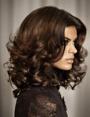 итальянка на средние кудрявые волосы
