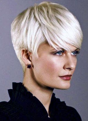 короткая французская причёска