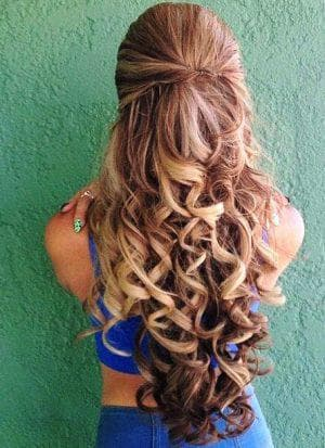 детская причёска плойкой на длинные волосы