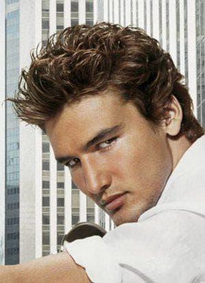 теннис на кудрявые волосы для мужчин