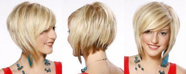 градуировка и текстурированное каре на вьющиеся волосы