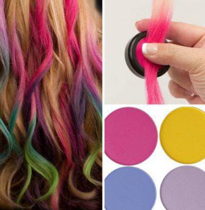 как пользоваться мелком для волос