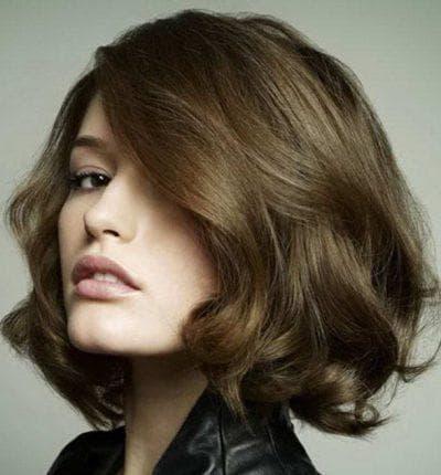 боб-каре для прямых прядей вьющиеся волосы