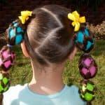 Прически ребенку в садик