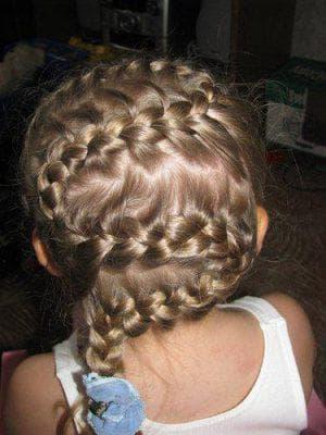 дракончик на длинные волосы для девочек
