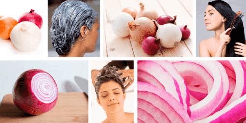 луковый компресс для волос