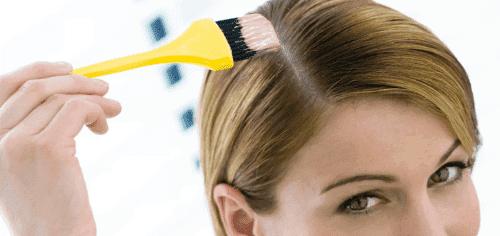 как правильно покрасить корни волос