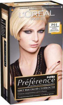 краска для волос Лореаль Блонд