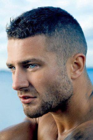 мужская причёска спорт