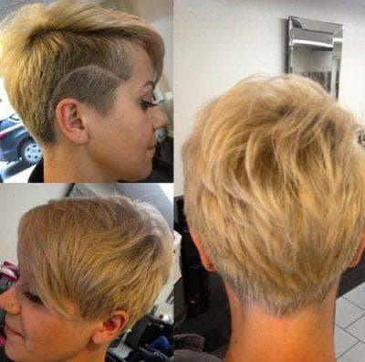 креативные женские стрижки на короткие волосы