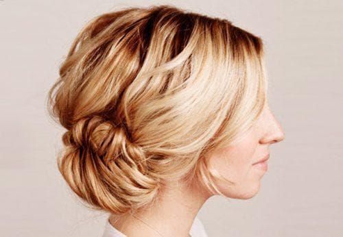 красивые пучки из волос на длинные волосы
