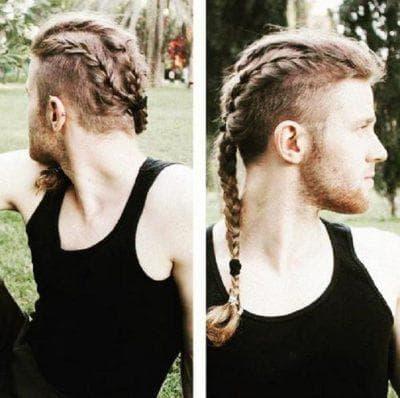 мужская коса