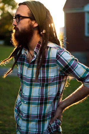 дреды из длинных волос мужчинам