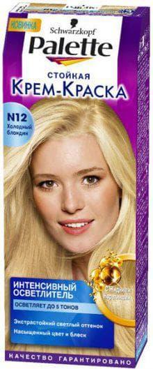 краска для волос Палетт Блонд