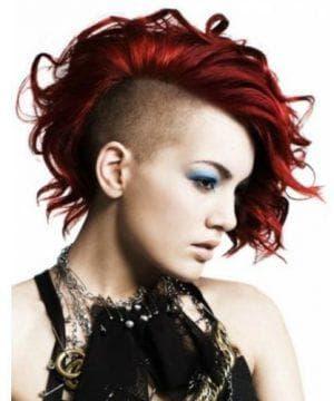 причёска панк женская