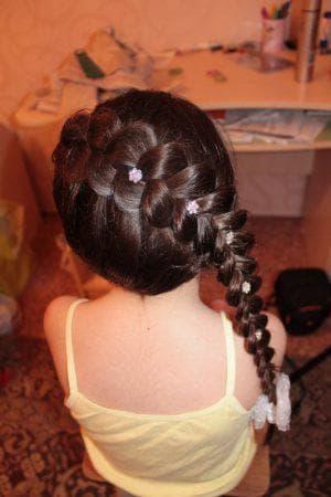 причёска дракончик на выпускной в детский сад