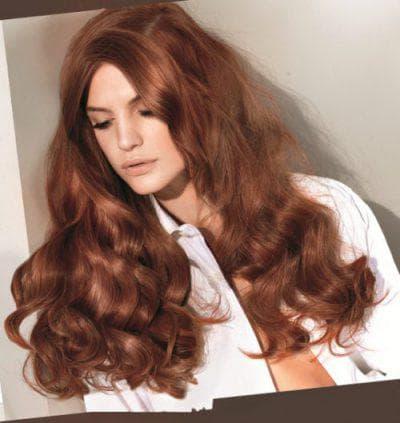 каштановый золотистый цвет волос