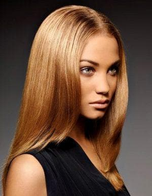 карамельный золотистый цвет волос