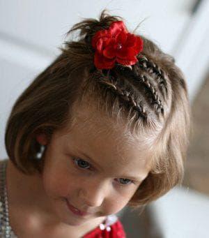 причёска фейерверк для девочки