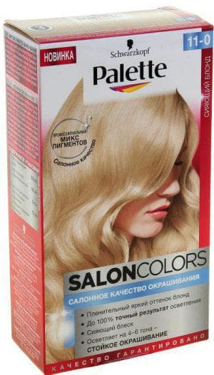 краска для волос палет Salon Colors